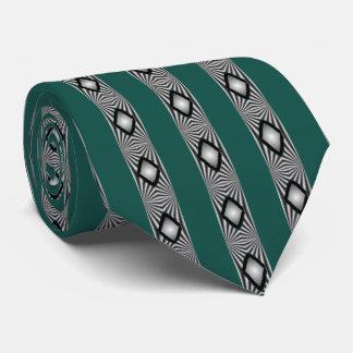 Diamantes y lazos de las rayas corbatas personalizadas