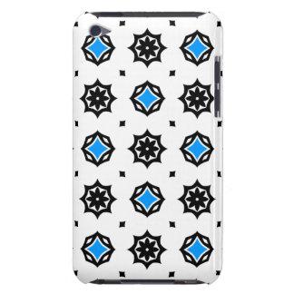 Diamantes y modelo retros lindos de los corazones iPod touch Case-Mate protectores