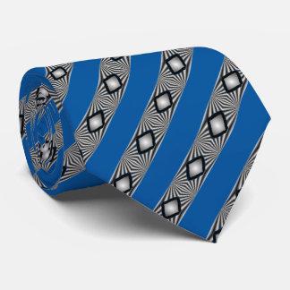 Diamantes y rayas corbatas personalizadas