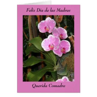 Diámetro de las madres Comadre de Feliz Tarjeta De Felicitación