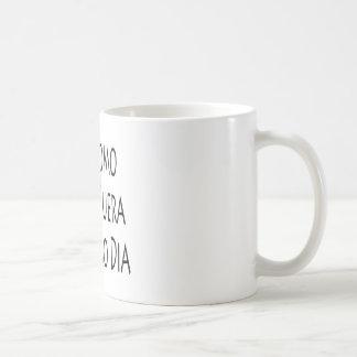 Diámetro del mes pasado del EL de Fuera del Hoy de Taza De Café