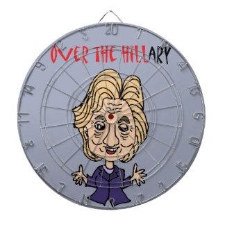Diana Arte político anti divertido de Hillary Clinton