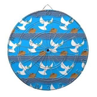 Diana Azul abstracto de la paloma y de la tierra del
