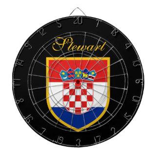 Diana Bandera de Croacia personalizada