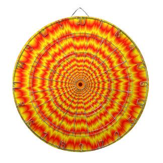 Diana Big Bang en rojo y amarillo