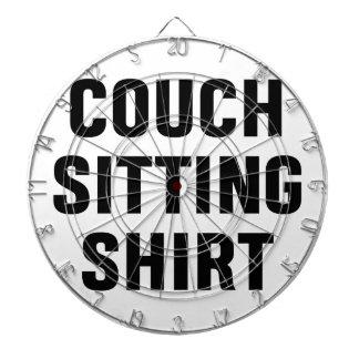 Diana Camisa que se sienta del sofá