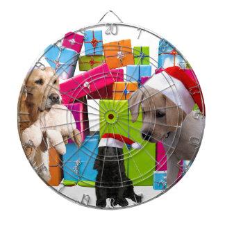 Diana Casquillo del gorra de Santa del perro del navidad