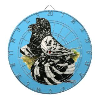 Diana Chapoteo oscuro de la paloma del trompetista