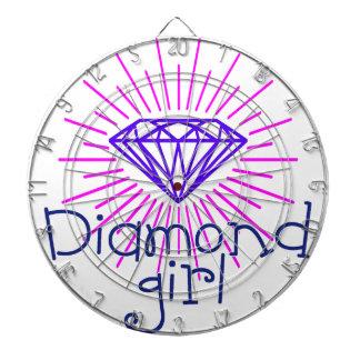 Diana chica del diamante, gema que brilla