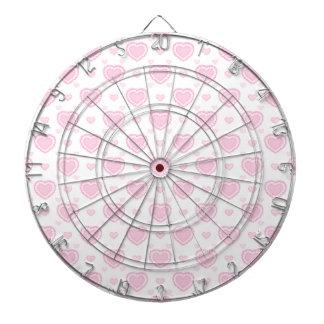 Diana Corazones rosados y blancos románticos