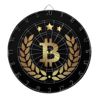 Diana Dartboard de la moneda de Cryptocurrency del