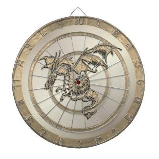 Diana Dartboard de oro de la regulación del dragón