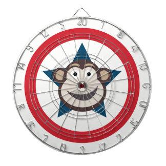 Diana Dartboard estupendo del mono