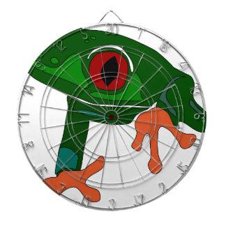 Diana Dibujo animado de la rana verde
