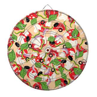 Diana Dibujo animado Pizza2 sabroso