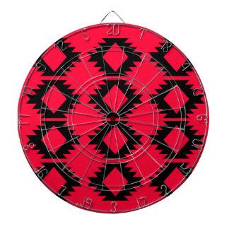 Diana Diseño maya rojo del diseño de Ethno