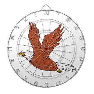 Diana Eagle enojado que vuela el dibujo animado
