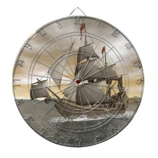 Diana El irse del barco pirata - 3D rinden
