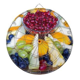 Diana Escala de cristal por completo de diversas frutas