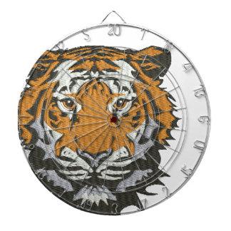Diana imitación del tigre del bordado