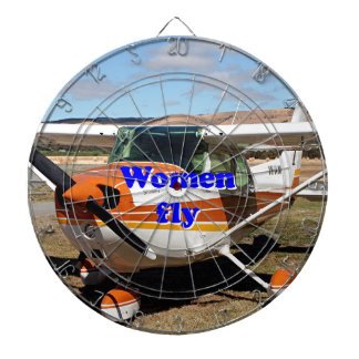 Diana Las mujeres vuelan: aviones de ala alta