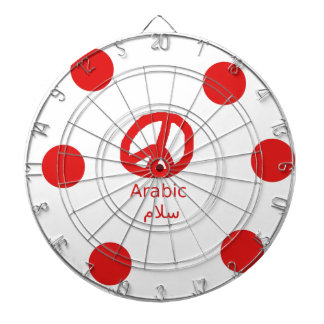 Diana Lengua y diseño árabes del símbolo de paz