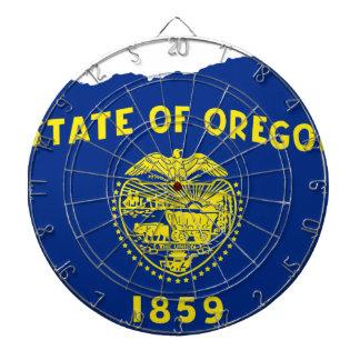 Diana Mapa de la bandera de Oregon