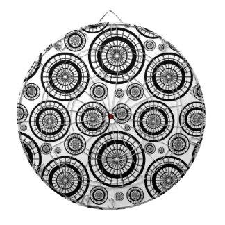 Diana Modelo de repetición blanco y negro de la rueda