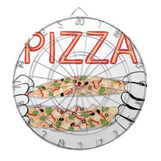 Diana Pizza sabrosa del dibujo animado y Hands3