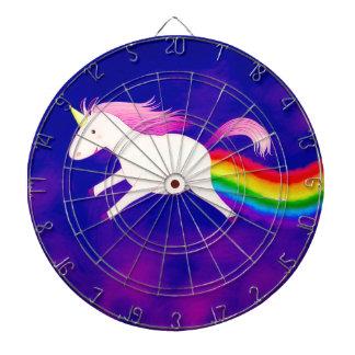 Diana Unicornio divertido del vuelo Farting un arco iris