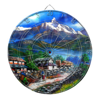 Diana Vista panorámica de la montaña Nepal de Everest