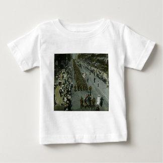 Diapositiva de linterna mágica de New York City Camiseta De Bebé