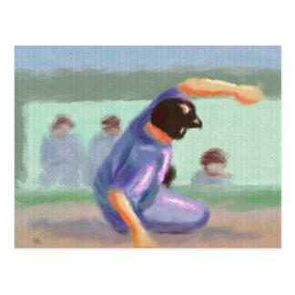 Diapositiva del béisbol postal