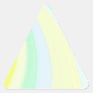 Diapositiva reconstruida calcomanía de triangulo personalizadas
