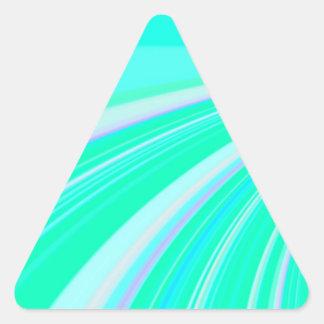 Diapositiva reconstruida calcomanía trianguladas personalizadas