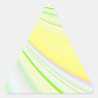Diapositiva reconstruida pegatina trianguladas personalizadas