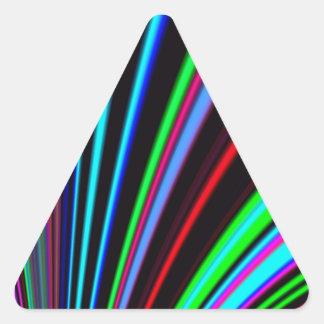 Diapositiva reconstruida colcomanias de trianguladas