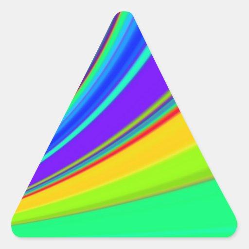 Diapositiva reconstruida pegatinas trianguladas personalizadas