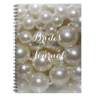 Diario completamente adaptable de las novias del cuaderno