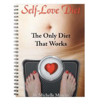 Diario de la dieta del Uno mismo-Amor Cuadernos