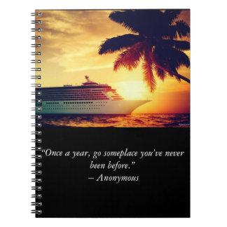 Diario de la travesía cuaderno