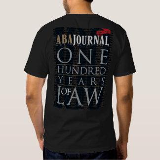 Diario del ABA 100 años de camiseta de la ley