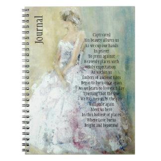 Diario del rezo con la novia cuaderno