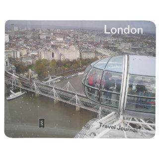 Diario del viaje del destino del ojo de Londres