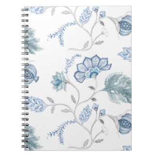 Diario en blanco jacobeo azul cuaderno