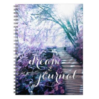 diario encantado del sueño de la trayectoria libreta
