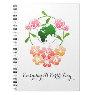 """""""Diario es el cuaderno del Día de la Tierra"""""""