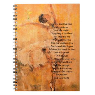 Diario piadoso del rezo con la bailarina cuaderno