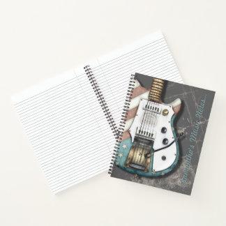 Diario retro de los guitarristas del músico