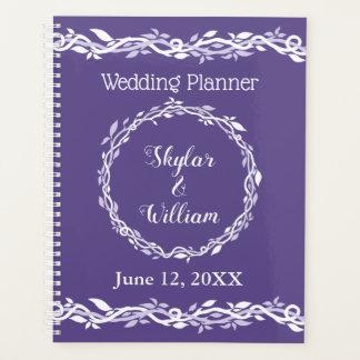 Agenda Diario simple del planificador del boda